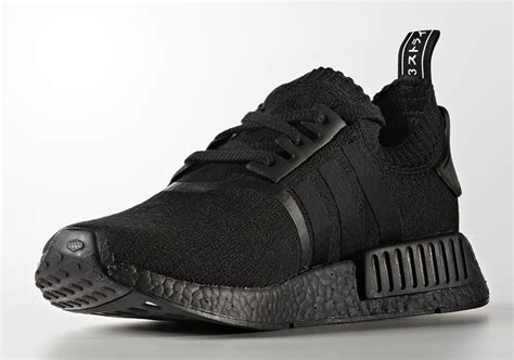 adidas nmd  primeknit japan triple black bz sneakernewscom