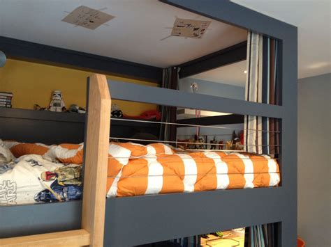 Double Sink Bathroom Decorating Ideas teen boy beds with nice gray bunk bed and liner comforter