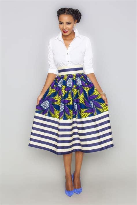 african attire skirt 50 fabulous modern ways to wear african fabric black