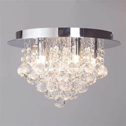 lighting low ceiling g9 galaxy flush ceiling light chrome from litecraft