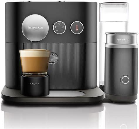 nespresso coffee krups expert xn6018 nespresso schwarz coffee pod