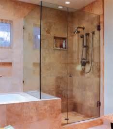 Glass Enclosed Shower Stalls River Glass Shower Enclosures