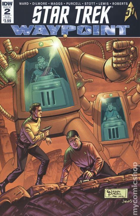 trek waypoint books trek waypoint 2016 idw comic books