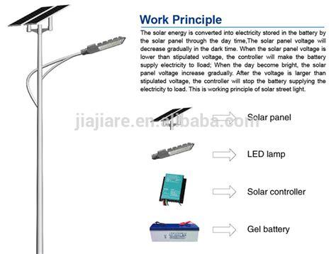 35w Solar Street Light Solar Panel Street Light Sale Led Solar Light Working