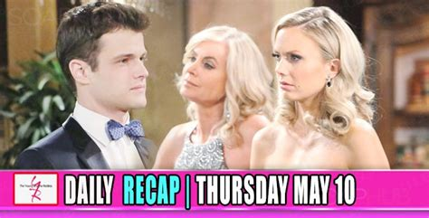 yr recap one night the young and the restless recaps the young and the restless yr recap ashley learned who