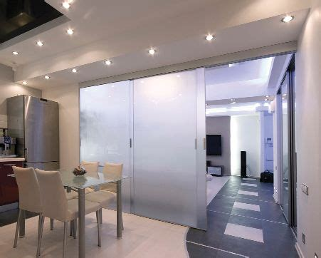 Interior Sliding Door System Home Interiors And Doors On