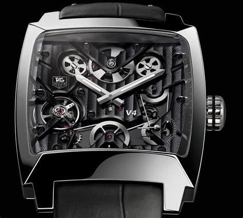 Tagheuer Monaco V4 Black limited edition tag heuer monaco v4 titanium extravaganzi