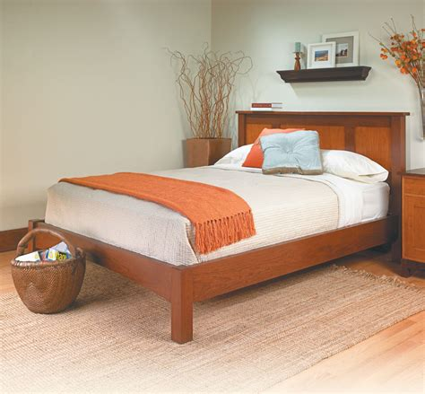 platform bed woodworking project woodsmith plans