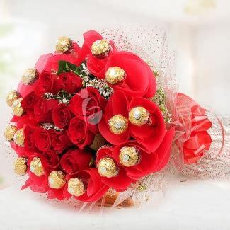 Bouquet Buket Fresh Roses Coklat Ferrero Rocher ferrero rocher chocolate bouquet with roses
