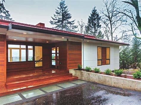 Tri Level Home Plans Designs home design the mid century modern revival professional