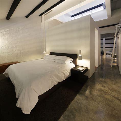 Modern Industrial Bedroom by Modern Industrial Loft In Singapore Gets Revitalizing Facelift
