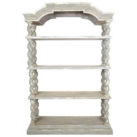 etagere hängend italian baroque carved wood etagere for sale at 1stdibs