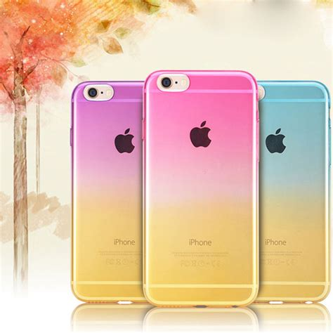 Iphone 5 5s 5se Cover Casing Silikon Soft Keren Gaul home picture more detailed picture about gradual change ombre colorful tpu soft for