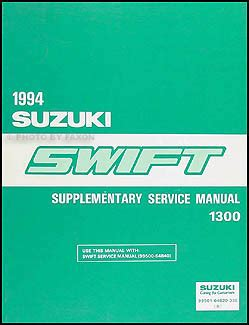 automotive service manuals 1998 suzuki swift engine control search