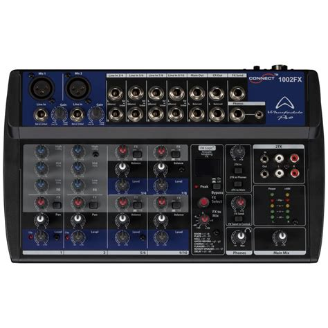 Mixer Wharfedale wharfedale pro connect 1002 fx mixer audio 10 ca