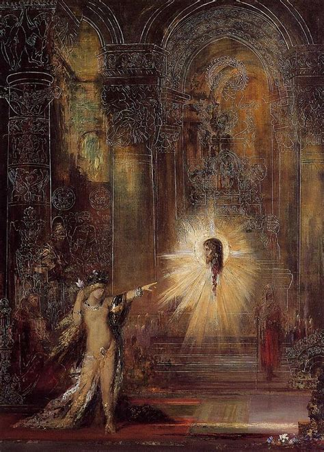 the apparition by gustave moreau artinthepicture