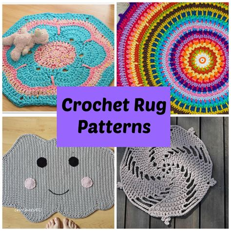 crochet rug pattern crochet rug patterns for a handmade home