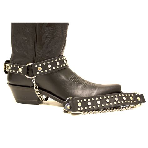 boot straps almax leather and rhinestone boot straps shoes boots
