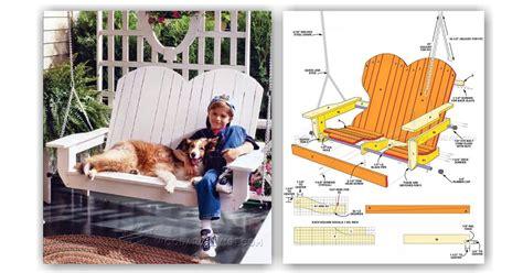 adirondack porch swing plans adirondack porch swing plans woodarchivist