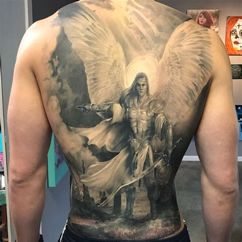 arch angel tattoo michael www pixshark images galleries
