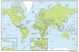 World Cities Map by World Map With Cities And Capitals