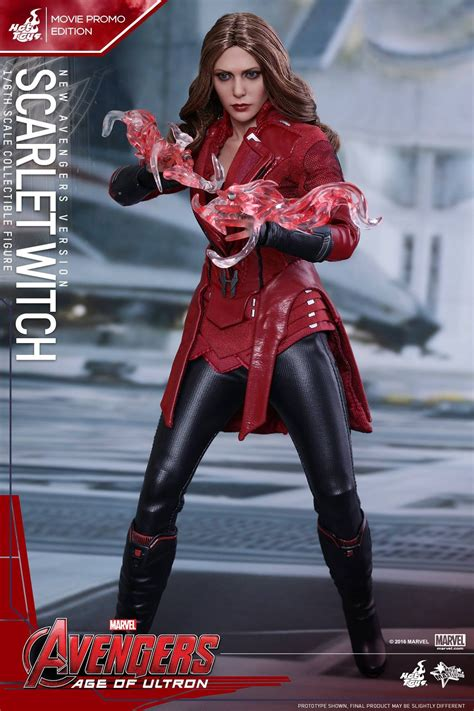 Toys Scarlet Witch Bib New Version Promo Edition 1 toys mms357 age of ultron scarlet witch new aveng marvelous toys