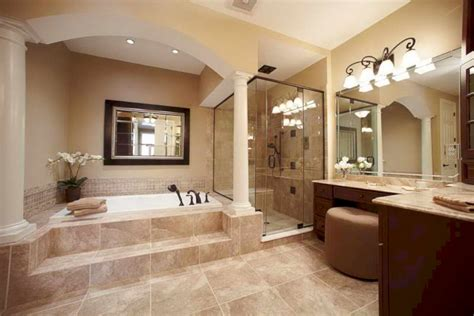 designer master bathrooms 20 stunning cozy master bathroom remodel ideas homedecort