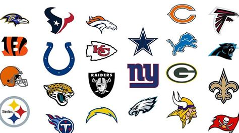 ranking the best and worst nfl logos