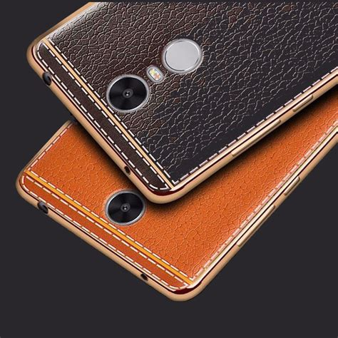 Back Cover Xiomi Redmi 3s3pro leather back cover for xiaomi redmi note 4 pro soft
