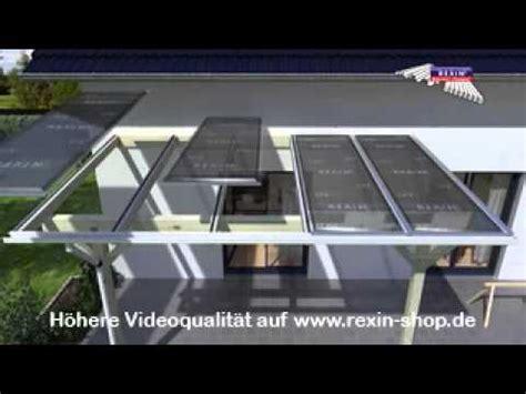 terrassendach 4 less 3d aufbauanleitung terrassendach 4 stegplatten