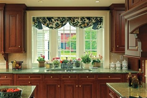 the sink kitchen window treatments home