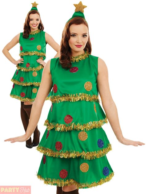 xmas tree model for fancydress tree costume adults novelty fancy dress womens