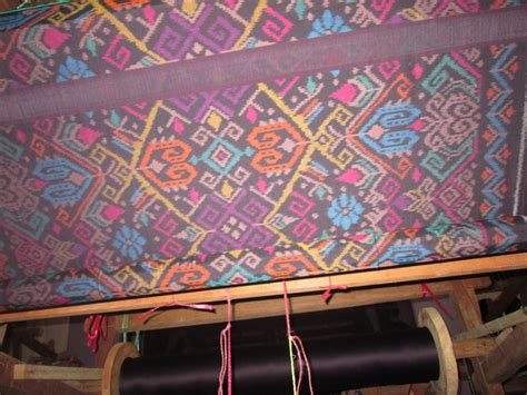 Kain Tenun Blanket 13 kain tenun ikat nusa dua bali merah juwet tua cv tenun
