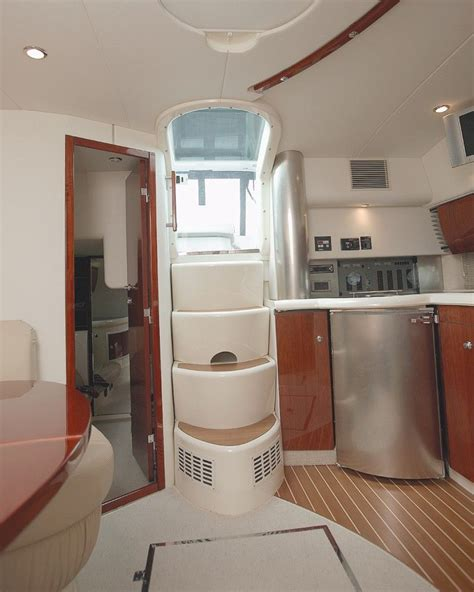 boats with bathrooms toilet in brown colors the interior is small and cozy boat