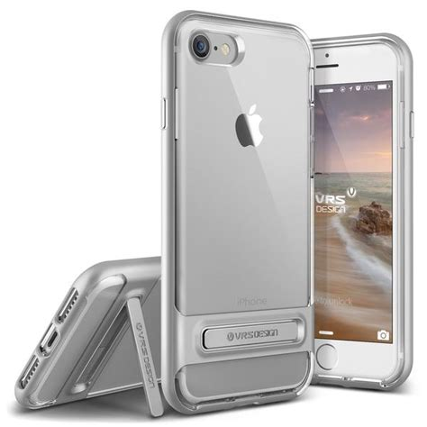 Verus Bumper For Iphone 7 Light Silver Perak verus bumper skal till apple iphone 8 7 silver themobilestore