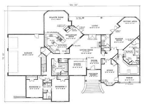 plan of residential house 4 bedroom house plans residential house plans 4 bedrooms 2 bedroomed house plans