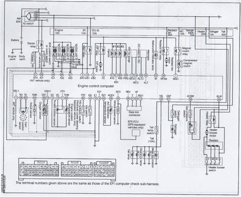 daihatsu terios ecu wiring diagram wiring diagram with