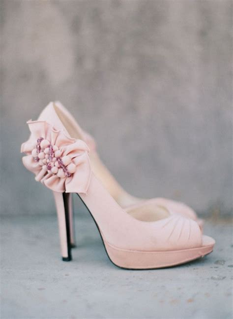 Blush Wedding Shoes by 1000 Ideas About Pink Wedding Shoes On Blush