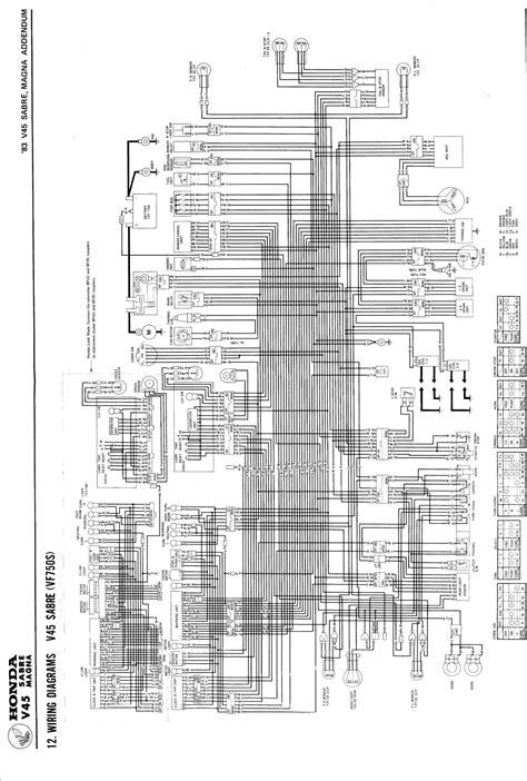honda v65 magna wiring diagram honda get free image