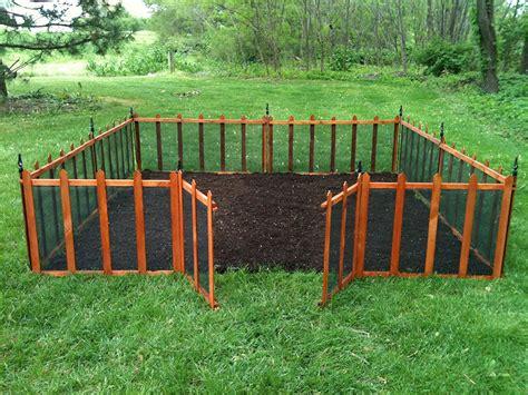 amazon com terra garden fence gf 4 protect beautify