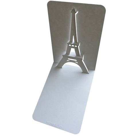 Pop Up Cards Templates Ifle Tower by Best 25 Eiffel Tower Craft Ideas On Of