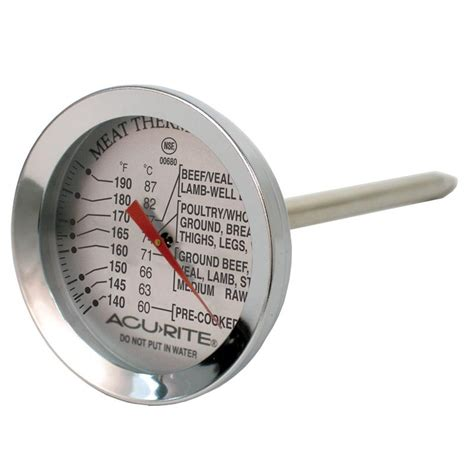 Food Thermometer acurite stainless steel oven safe thermometer