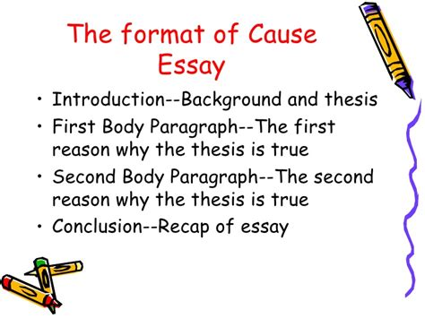 Cause And Effect Of Stress Essay by Cause Effect Essay Powerpoint New