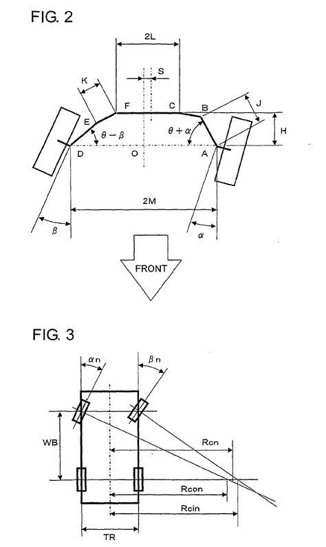 18 wheeler turning radius diagram vehicle turning radius calculation vehicle ideas