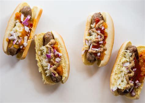 bratwurst toppings bratwurst and hot dog bar jelly toast
