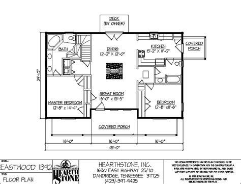 Hearthstone Home Plans by Eastwood 1392a Hearthstone Homes
