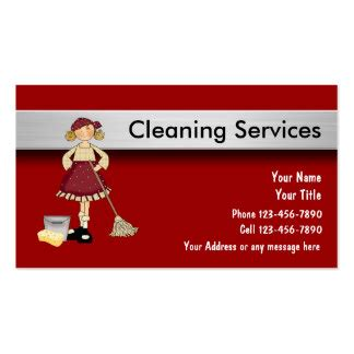 cleaning services business card cleaning services business cards templates zazzle