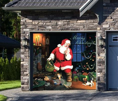 santas house of games xmas door decoration 13 best images about outdoor decorations on front doors yard and