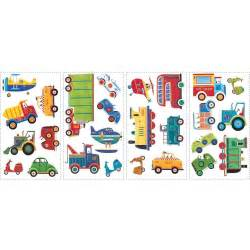 transportation wall stickers 26 decals cars trucks planes the vanity room smart wall art