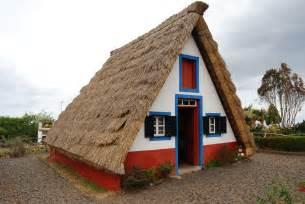 Build An A Frame House File Traditional Thatched House Palheiro Santana